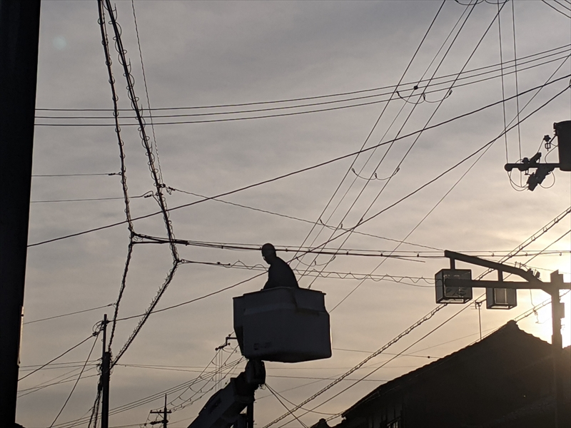 大阪府枚方市の電気通信工事ならSolid